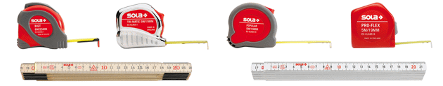 Sola measuring tools